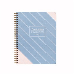 MR WONDERFUL Planner settimanale a quaderno 16,5 x 21,5 x 0,8