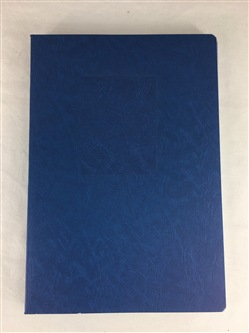 Virca Quaderno F.to A5 a righe 1R Blu Punto Metallico