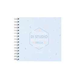 Planner di studio per i primi della classe 20,8x19,4x2,5 - MR WONDERFUL