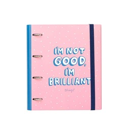 MR WONDERFUL Ring binder - I'm not good. I'm brilliant! 28x32x4