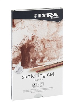 LYRA Rembrandt hi quality sketching pencils 11 pz