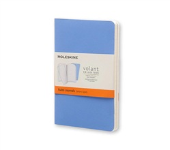 Moleskine Quaderno Volant Journal a righe Pocket Powder Blue