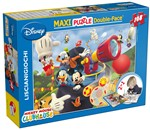 Lisciani 31658 Puzzle Double-Face SuperMaxi 108 pz. Mickey Club House