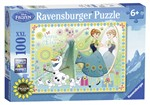 Ravensburger 10584 Frozen Fever - Super 100 pezzi