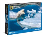 Clementoni 39304 National Geographic Young Male Polar Bear Puzzle 1000 Pezzi