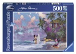 Ravensburger 14341 Disney Romantic Mickey Surf Puzzle 500 pezzi