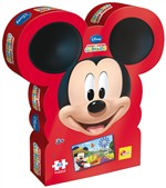 Lisciani 43644 Mickey Mouse Shaped Box Puzzle