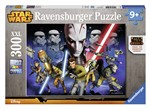 Ravensburger 13195 Star Wars Rebels La lotta per l'impero Puzzle 300 pezzi