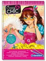 Clementoni 15931 Crazy Chic Sketchbook Maschere