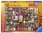 Ravensburger 19398 The Red Box (Thompson) Puzzle 1000 pezzi