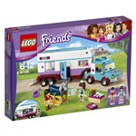 LEGO Friends 41125 - Rimorchio veterinario dei cavalli