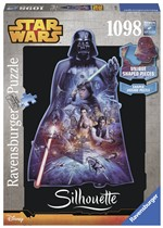 Ravensburger Puzzle 1000 pz. Silhouette - Darth Vader