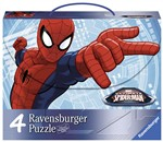 Ravensburger 7262 Ultimate Spiderman Valigetta 4 puzzle
