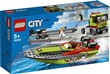 LEGO City Great Vehicles (60254). Trasportatore di motoscafi