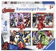 Avengers Puzzle 4 in 1 Ravensburger (06942)
