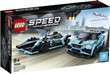 LEGO Speed Champions (76898). Formula E Panasonic Jaguar Racing GEN2 car & Jaguar I-PACE eTROPHY