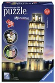 Ravensburger 3D Puzzle Building Night Edition - Torre di Pisa
