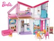 Barbie Nuova Casa di Malibu 2019. Playset Richiudibile su Due Piani con Accessori FXG57