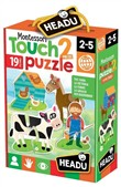 Montessori Touch 2 pz Puzzle The Farm