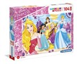Disney Princess 104 maxi pezzi Supercolor Puzzle