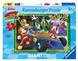 Ravensburger Puzzle 24 giant Pavimento - Topolino Roadster Racers