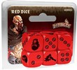 Zombicide Black Plague. Red Dice