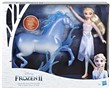 Hasbro Disney Frozen 2 - Fashion Doll Elsa e Nokk (ispirati al film Disney Frozen 2)