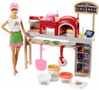 Barbie Fairytale. Barbie Pizza Chef Playset (FHR09)