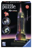 Ravensburger 12566 Empire State Building luminoso 3D Puzzle 216 pezzi