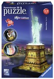 Ravensburger 3D Puzzle Building Night Edition - Statua della Libertà