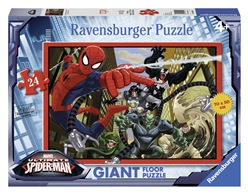 Ravensburger 5440 Ultimate Spiderman La lotta di Spiderman contro il male Puzzle 24 pezzi