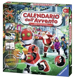 Ravensburger 18903 Calendario dell'avvento Robot