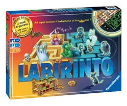 Ravensburger 26692 Labirinto - Glow in the dark