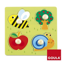 Image of GOULA Puzzle Campagna (22x22x4cm)