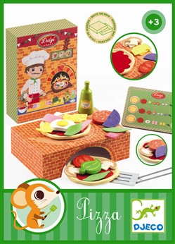 DJ06538 -  Luigi Pizza Wooden Box