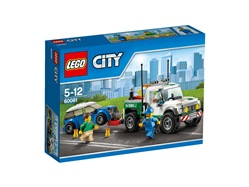 LEGO City Great Vehicles 60081 - Pickup carro attrezzi