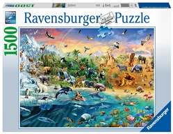 Our Wild World Ravensburger Puzzle 1500 pz