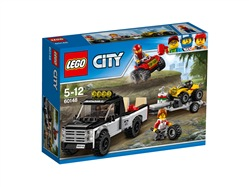 LEGO City Great Vehicles 60148 - Team Da Corsa Del Fuoristrada
