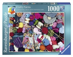 Ravensburger 19515 Crafty Yarns Puzzle 1000 pezzi