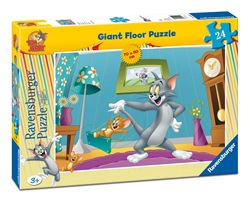Ravensburger 5412 Tom e Jerry Puzzle 24 pezzi