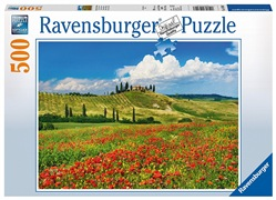 Ravensburger Puzzle 500 pezzi - Estate in Toscana