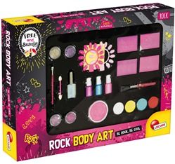 Free And Beauty Rock Body Art
