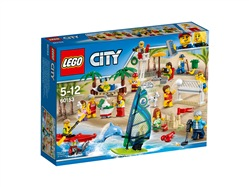 LEGO City Town 60153 - People pack – Divertimento in spiaggia